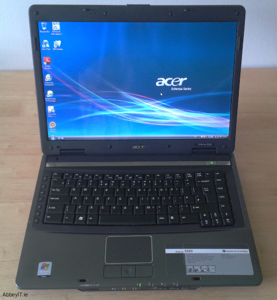 For Sale Acer Extensa 5220 Laptop Used Sold